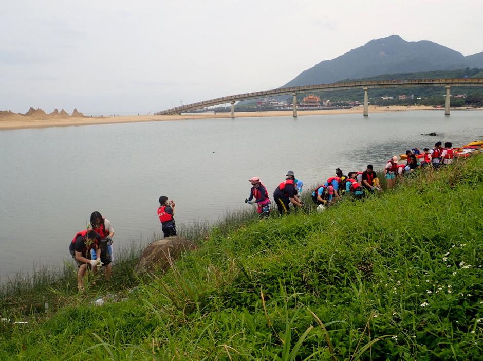 世界地球日獨木舟淨河