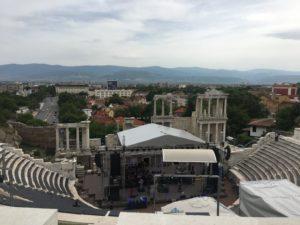 plovdiv羅馬劇場