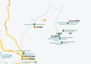 山頂教堂地圖