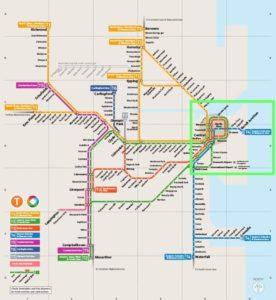 雪梨metro map