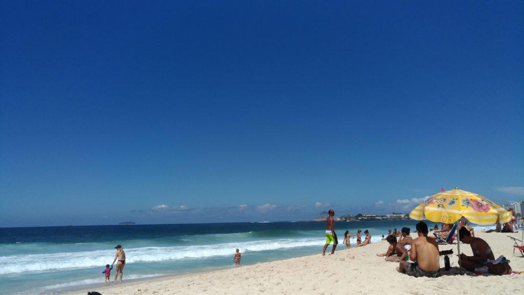 copacabana海邊
